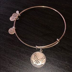 Alex & Ani Air Force bracelet